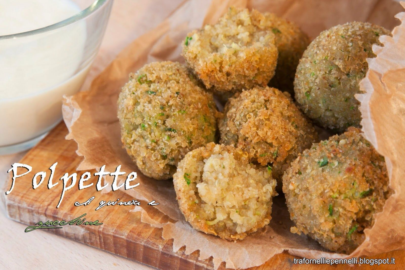 Polpette #quinoa e zucchine on http://trafornelliepennelli.blogspot.it/2014/07/polpette-di-quinoa-e-zucchine.html