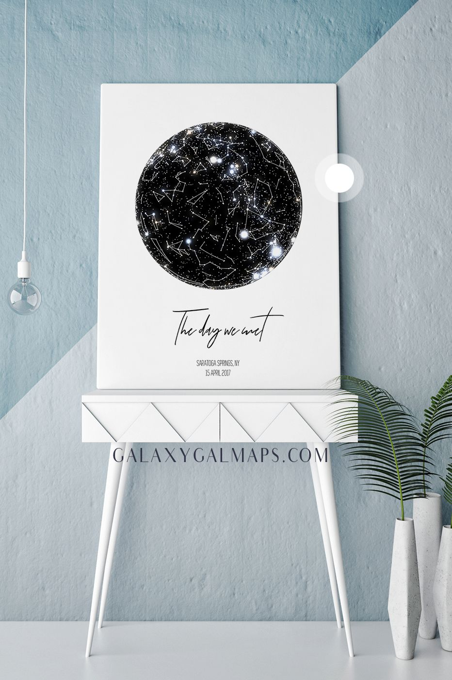 Personal star map by date and location world travel map canvas personal star map by date and location world travel map canvas world map poster push gumiabroncs Gallery