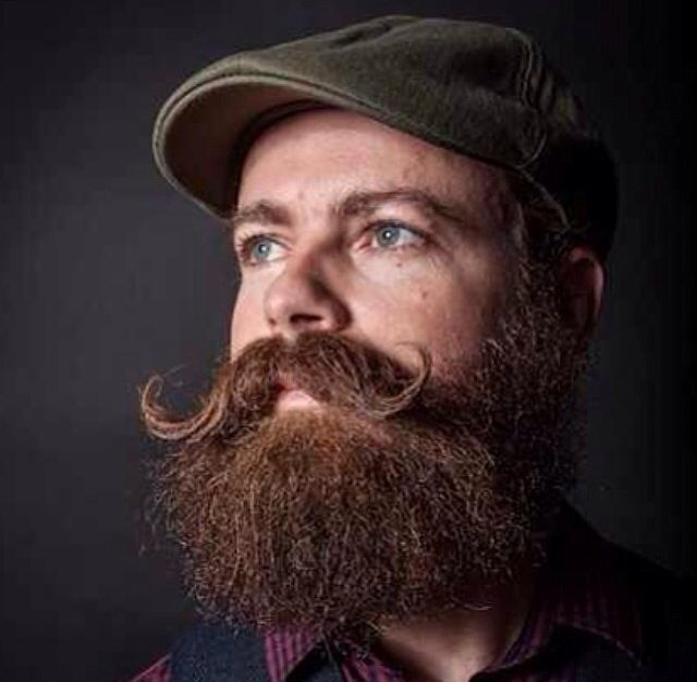 Beards And Mustaches: Handlebar Mustache And Beard