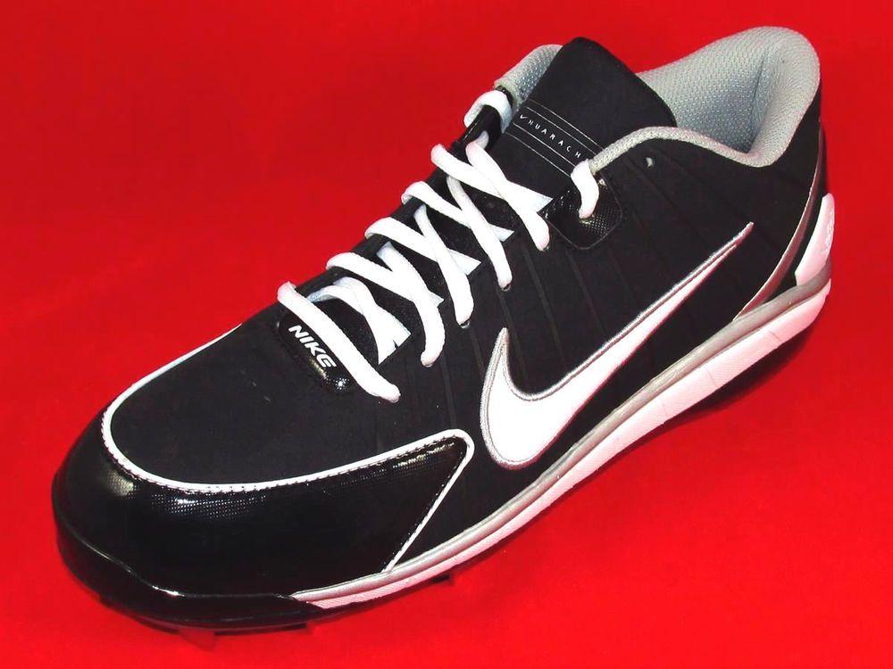 cancellatura abbattersi Rispetto  Nike Huarache 2K4 Low Metal Baseball Cleats Mens Size 11 Black/White #Nike  | Metal baseball cleats, Baseball cleats, Nike huarache