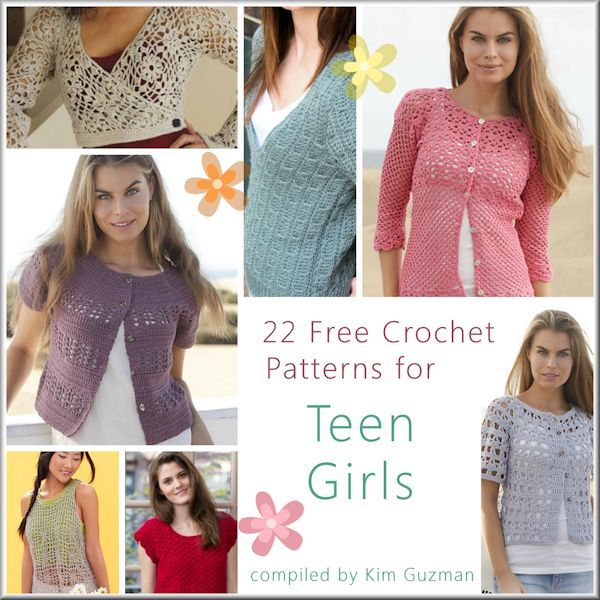 Link Blast: 22 Free Crochet Patterns for Teen Girls | WIPs \'N Chains ...