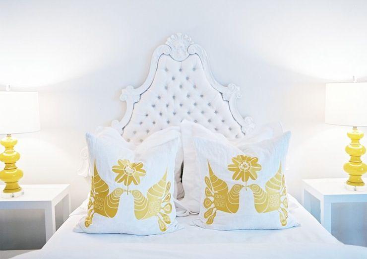 White and yellow beroom
