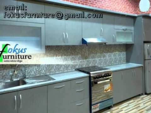 Furniture Minimalis Apartemen Mediterania Kitchen Set Minimalis