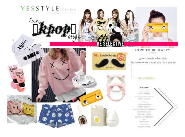 """fun Kpop Style from yesstyle.com"" by fash-fanatica on Polyvore"