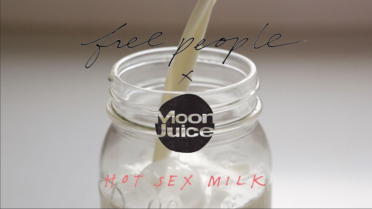 Free People x Moon Juice: Hot Sex Milk