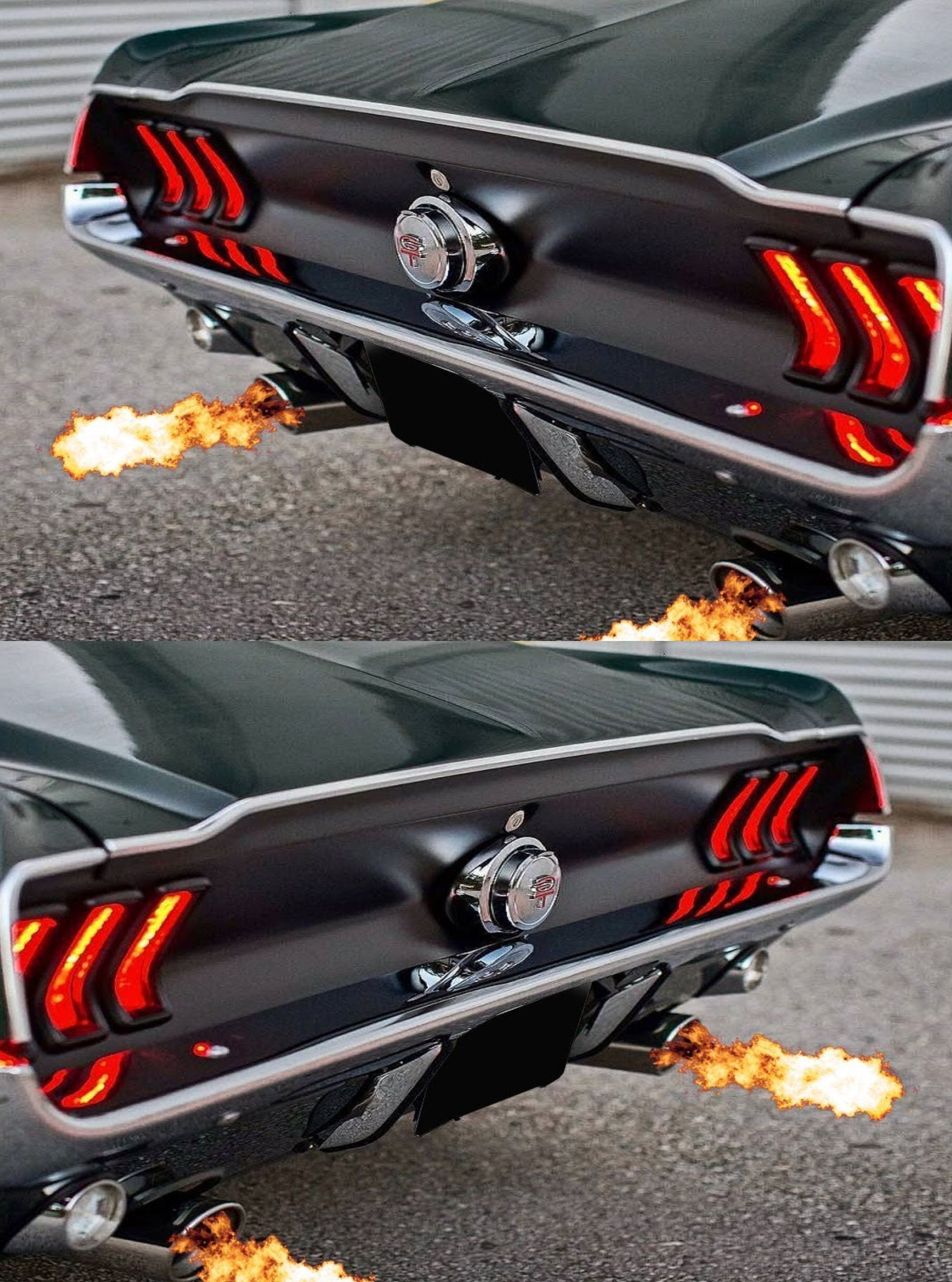 67 Ford Mustang Fastback Loud Exhaust Sound Compilation Ford
