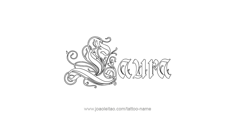 Laura Name Tattoo Designs Name Tattoo Name Tattoos Name Tattoo Designs