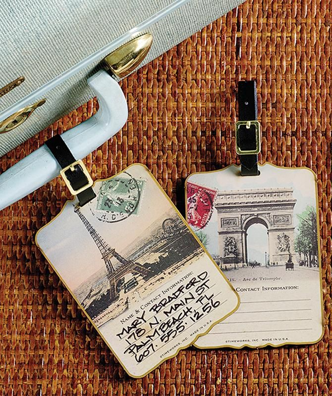 Luggage Tags Wedding Favors: Vintage Wedding Ideas From The 1920s