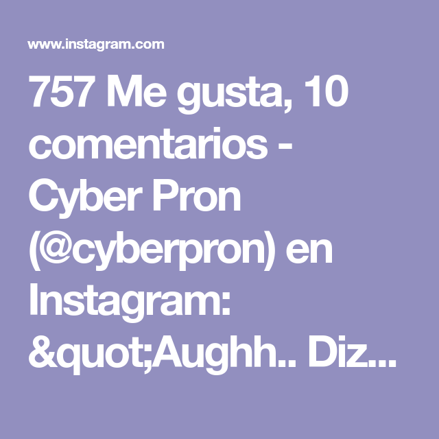 Instagram Pron