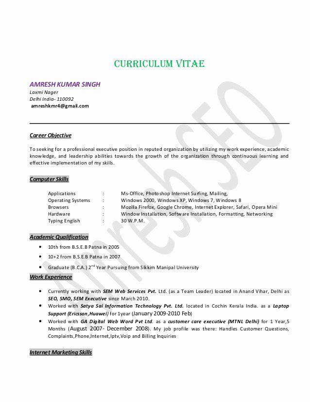 Team Leader Resume Example Elegant Seo Specialist Resume Seo Team Leader Delhi India Good Resume Examples Medical Assistant Resume Resume Examples
