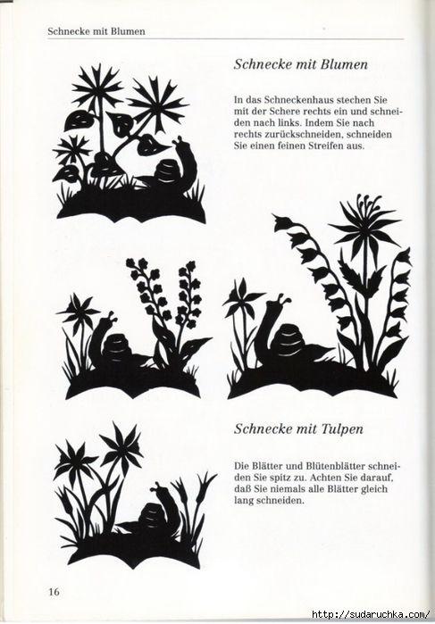 Modèles de fleurs .