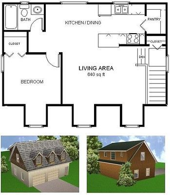 24x32 Garage Apartment Plans Package Blueprints Material List Garage Apartment Plans Apartment Plans Garage Apartments