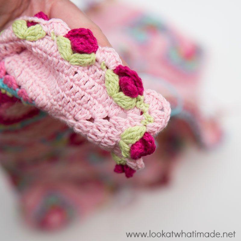 Crochet Lydia Blanket: Reveal   Ovillos, Frazadas y Croché