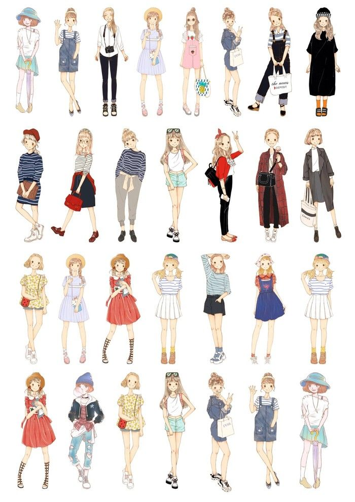 Cute Anime Girl Outfit Ideas : anime, outfit, ideas, Anime, Outfits