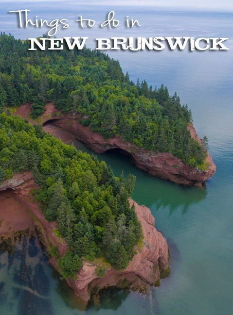 """We quickly learned that New Brunswick, Canada is NOT a """"drive-through province."""" Click to see why!"""