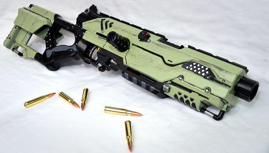 Custom Modified NERF Rayven CS35 by MarcWF ...