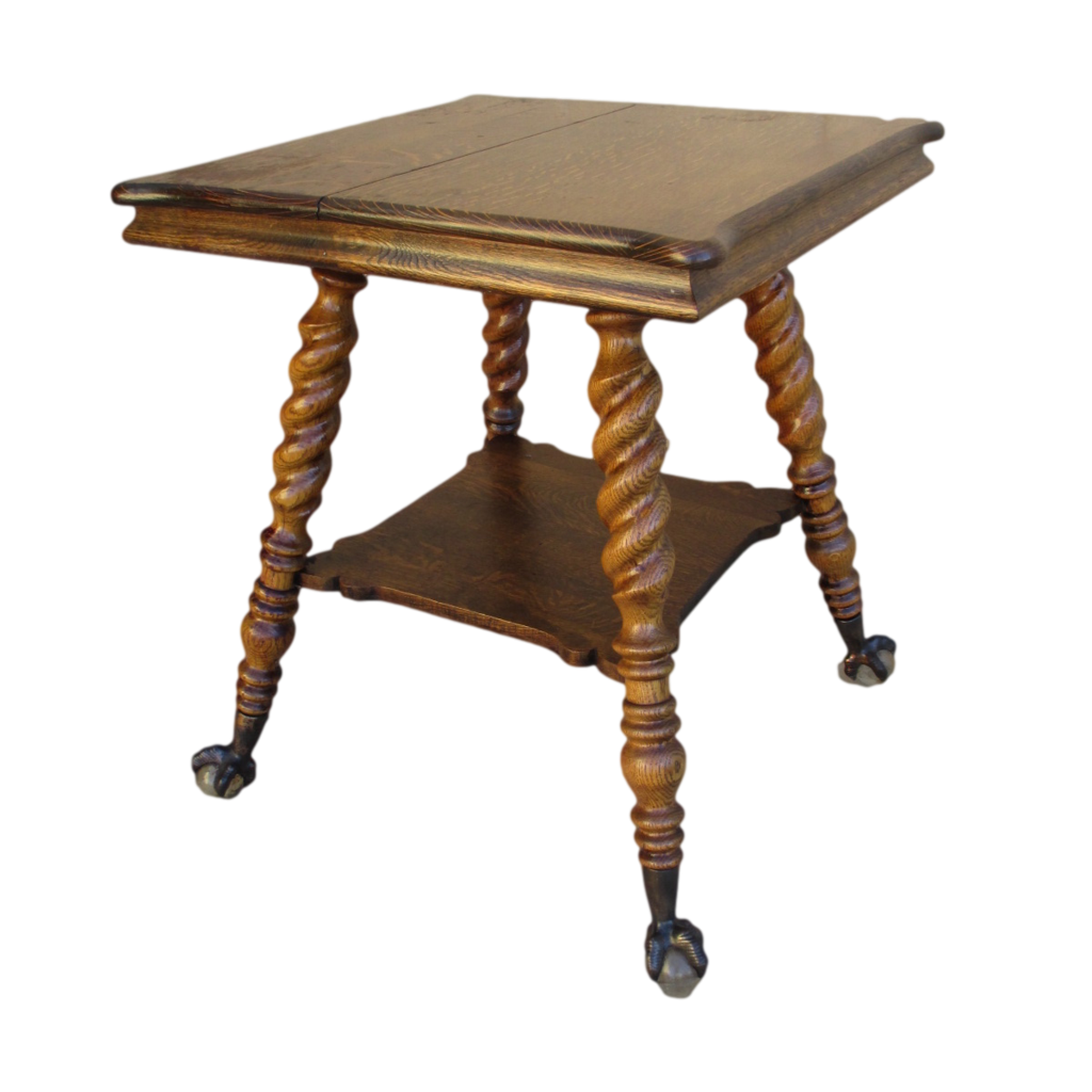 Antique victorian lamps google search things i like this is a very beautiful antique oak lamp table with barley twist legs and ball geotapseo Choice Image