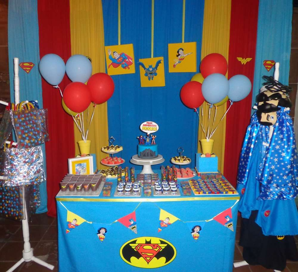 Trinity Heroes - Super Hero Birthday Party Ideas