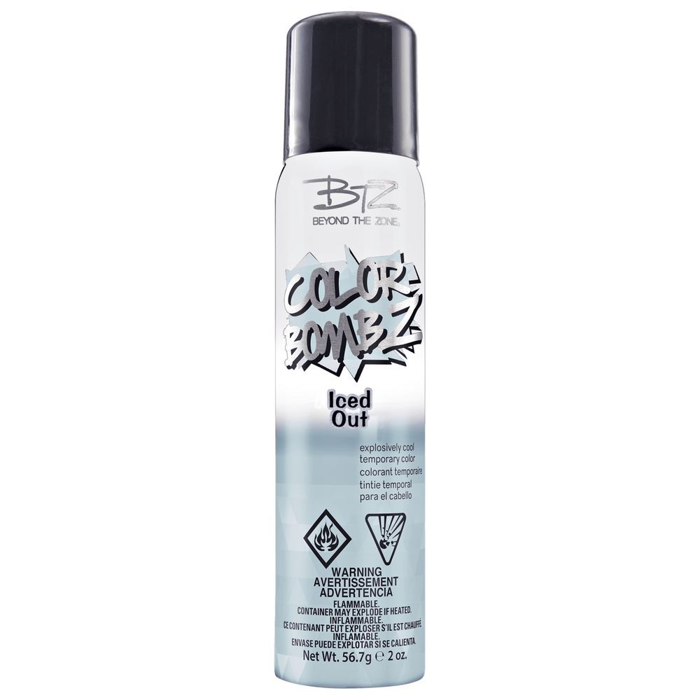 Fashion Beauty Zone: Color Bombz Iced Out Temporary Hair Color Spray