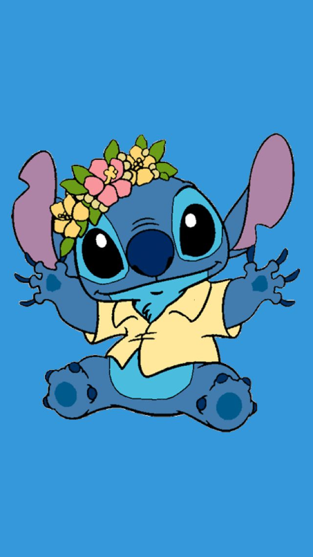 Wallpaper Wallpaper Iphone Disney Stitch And Angel Cute Stitch