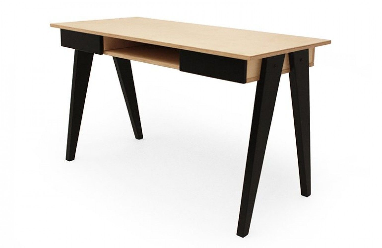 Bureau design huh blanc noir radis bureau en bois office