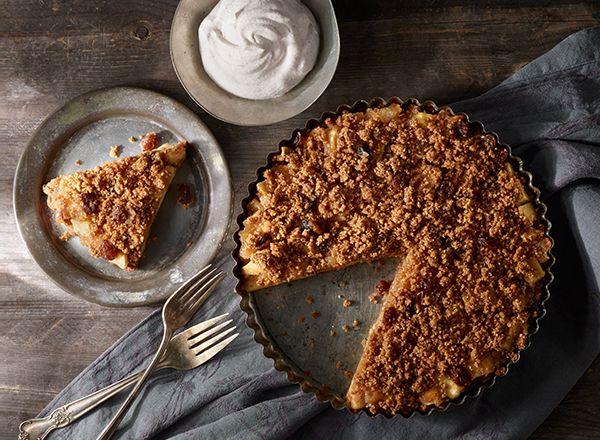 ApplePecan Tart Recipe Pecan tarts, No cook desserts