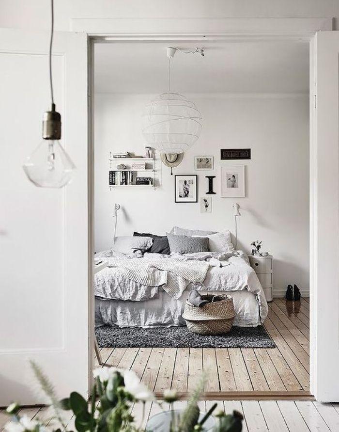 Schlafzimmer inspiration dachschräge  Minimalist Bedroom Inspiration   Pinterest   Beleuchtung dachschräge ...