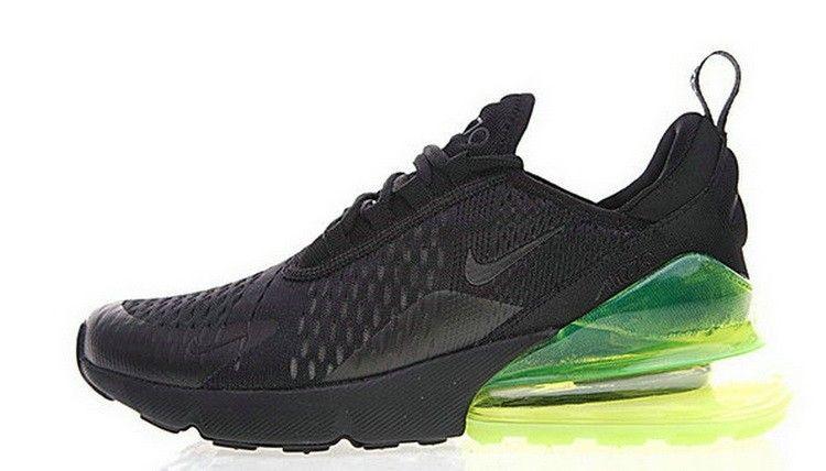 a5f4146b0c1afc Nike Air Max 270 Flyknit Black Green AH8050 030 | 5-Nike air max270 ...