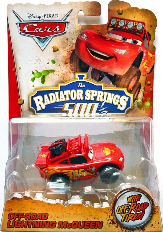 Disney Pixar Cars The Radiator Springs 500 1 2 Off Road