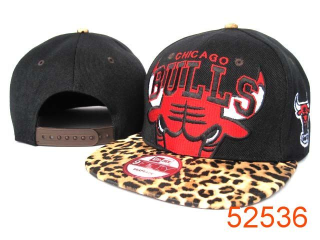 NBA Chicago Bulls Snapback Hats Caps Leopard grain style New Era 2150 dcb0629e5190