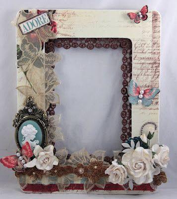 Diy elisa & magic paint. Tiffanys Paper Designs Photo Frame Crafts Picture Frame Decor Frame Crafts