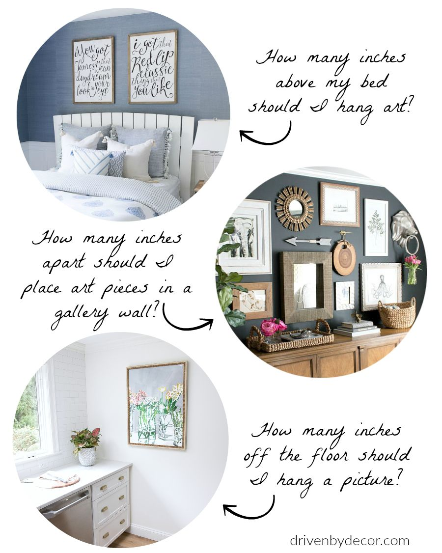 The Best Height To Hang Pictures Simple Tips For Getting It