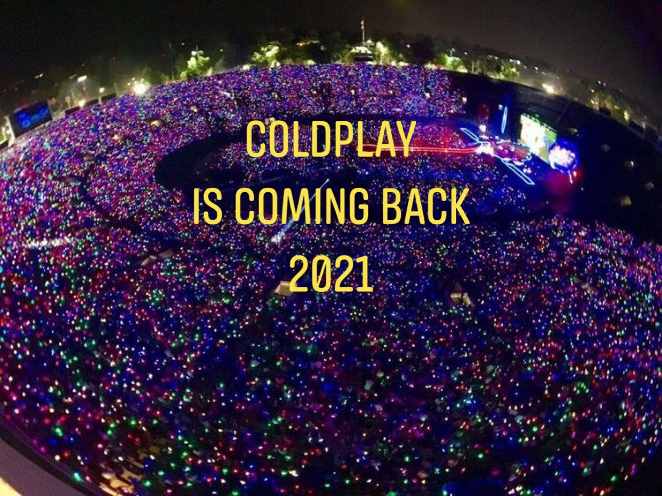 Coldplay Tour Deutschland 2021