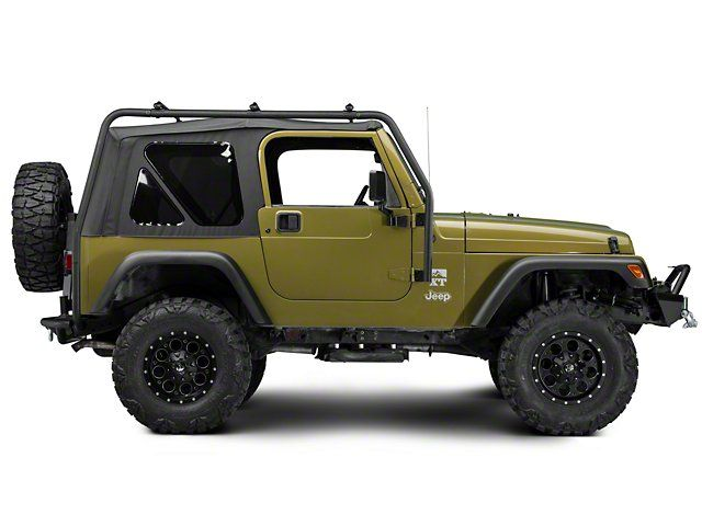 Barricade Jeep Wrangler Roof Rack Textured Black J100172 97 06 Jeep Wrangler Tj Excluding Unlimited Jeep Wrangler Roof Rack Jeep
