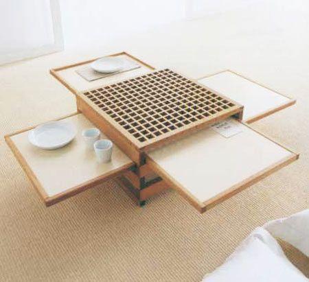 Mesa de centro madera Ideas para la casa Pinterest Mesa de - mesas de centro de diseo