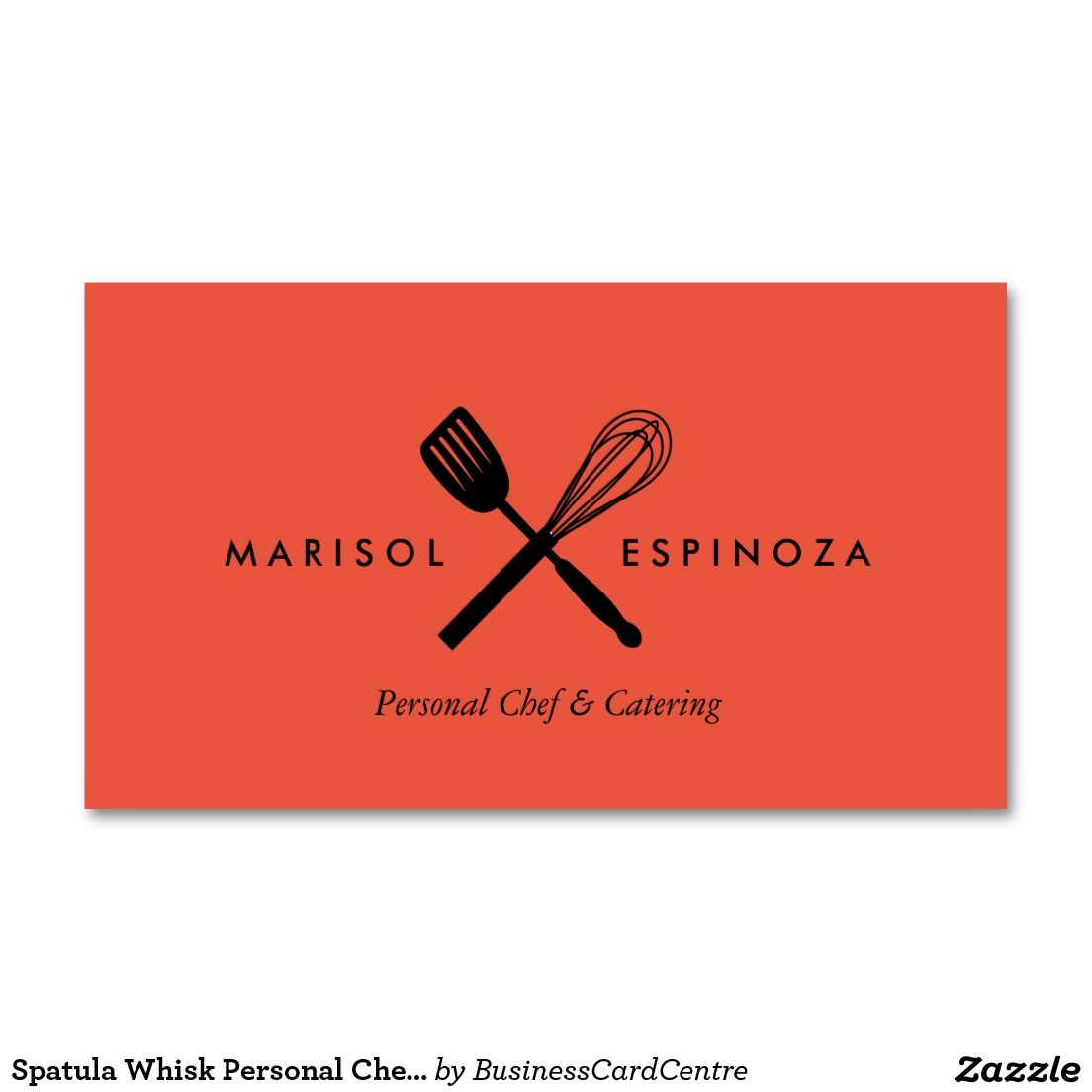Spatula Whisk Personal Chef Caterer Business Card Zazzle Com Personal Chef Catering Business Cards