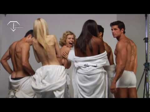 FTV   Mario Testino for D Fragrance - Sexy Photoshoot   FashionTV - FTV.com