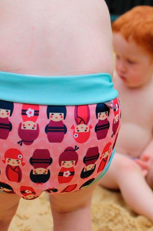f01e37723 Bañador pañal tela natación anti-escapes bebé. Ideal para piscina y playa.  Descúbrelo