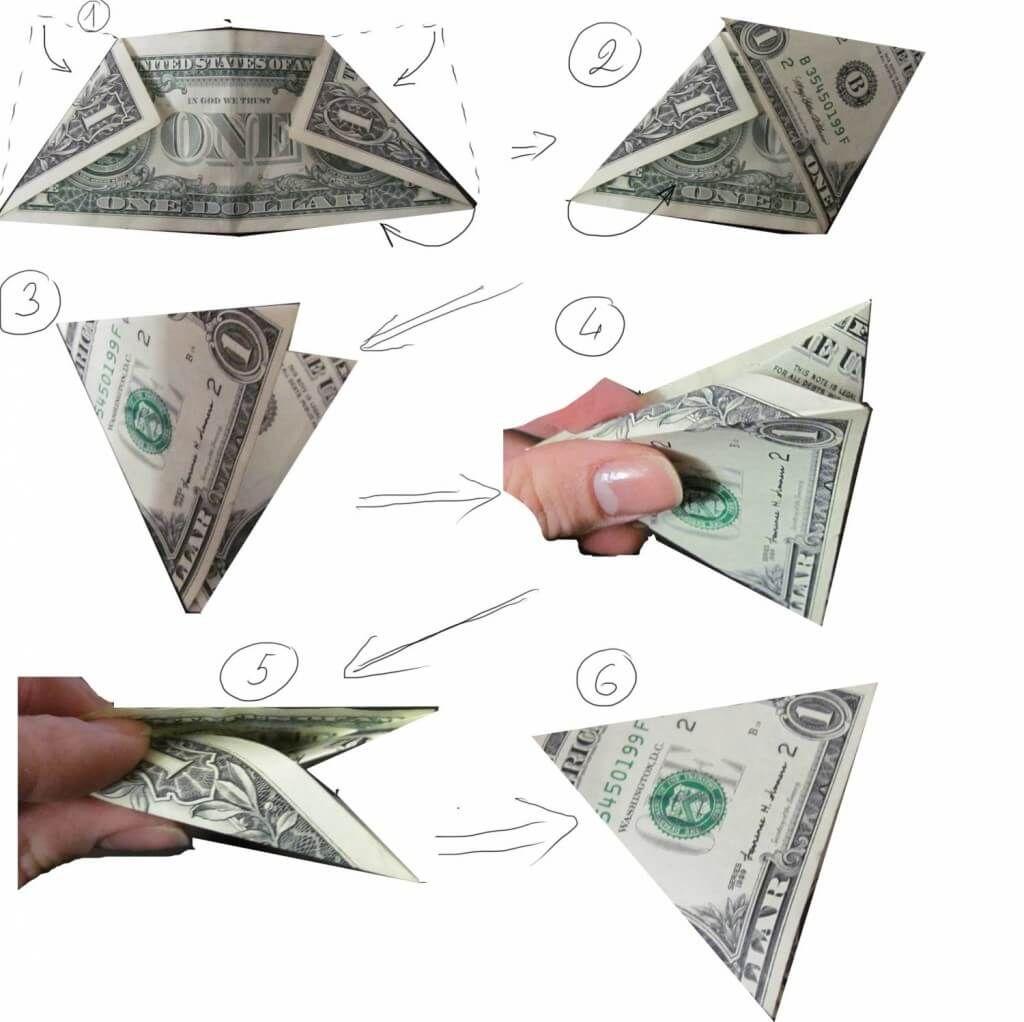 Доллар из купюр своими руками фото 298
