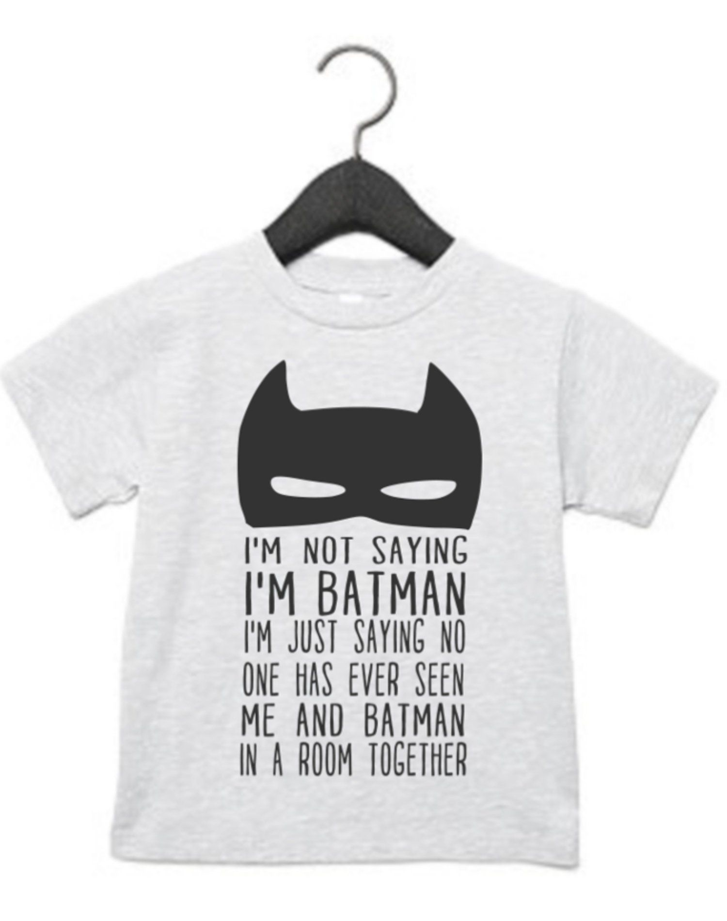 3a8d731be Batman Humor Kids Shirt | The Tattered Sparrow | Kids shirts, Shirts ...