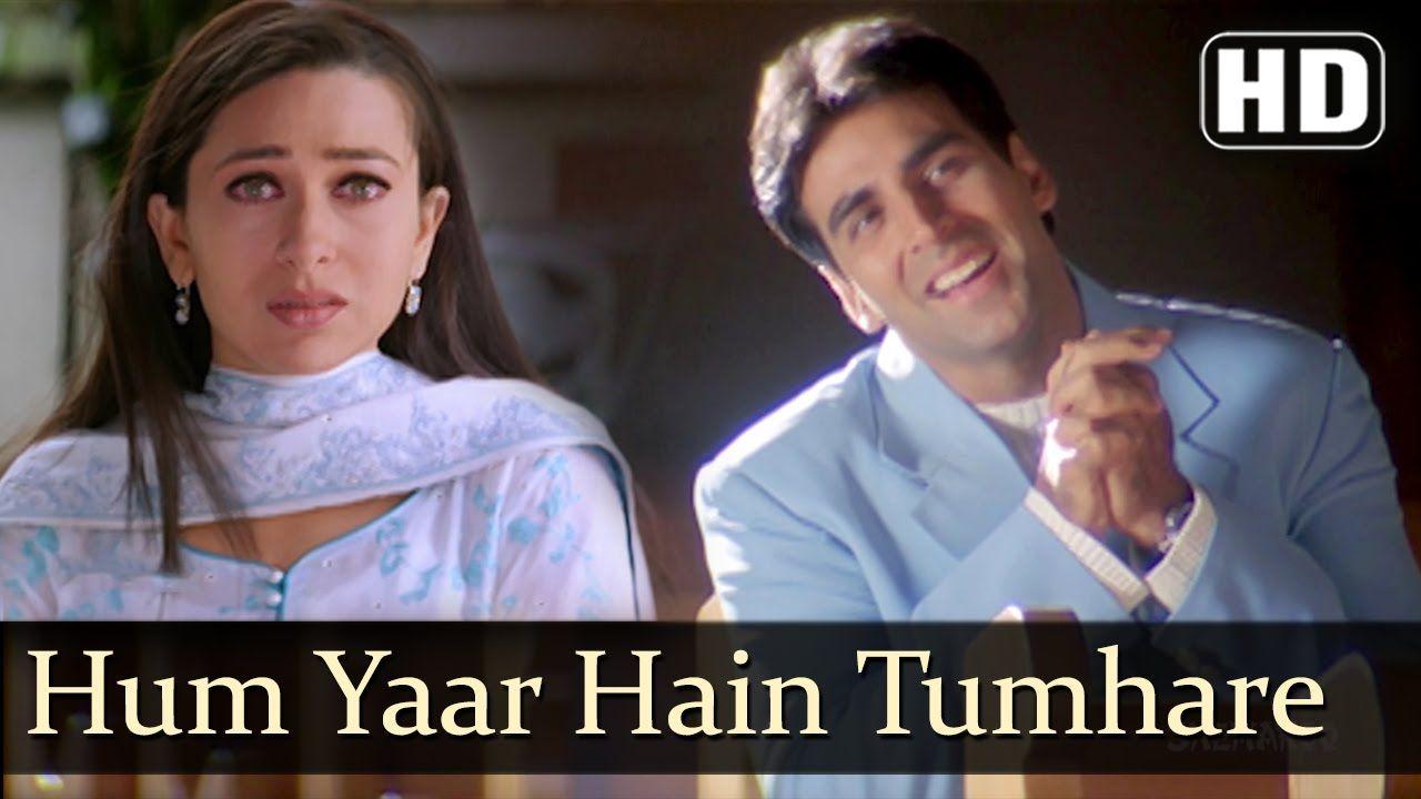 Hum Yaar Hain Tumhare Female Haan Maine Bhi Pyaar Kiya Abhishek Bachchan Karishma Kapoor Youtube Lagu Maine Youtube
