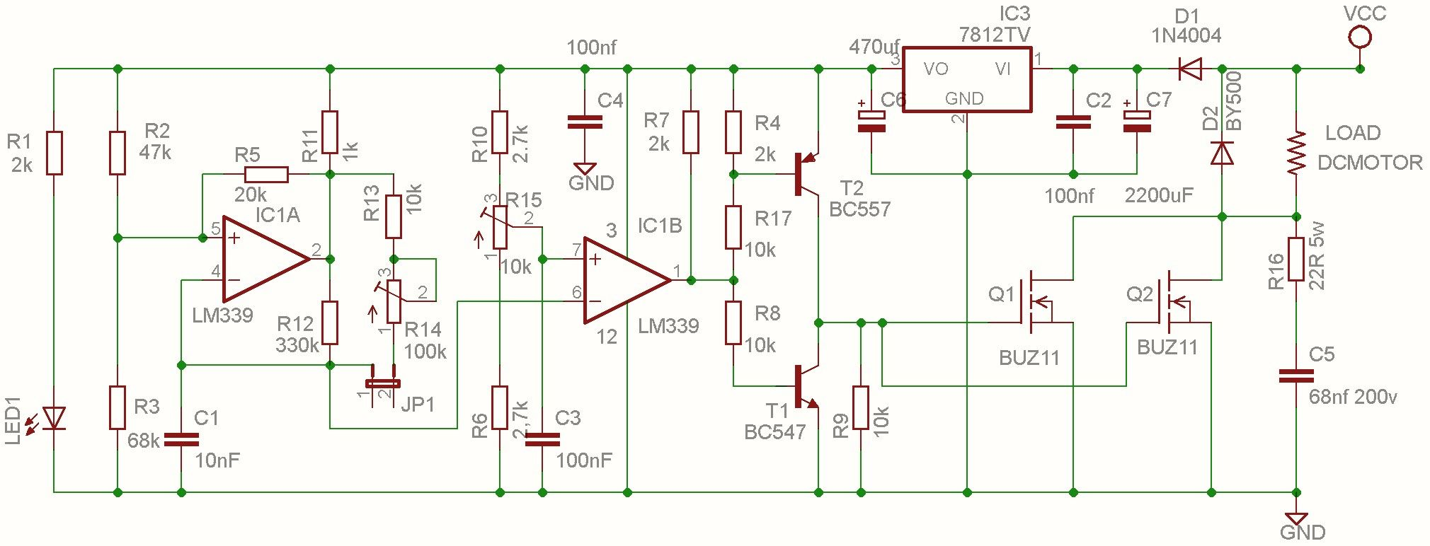 small resolution of dc brush motor speed control pwm google search
