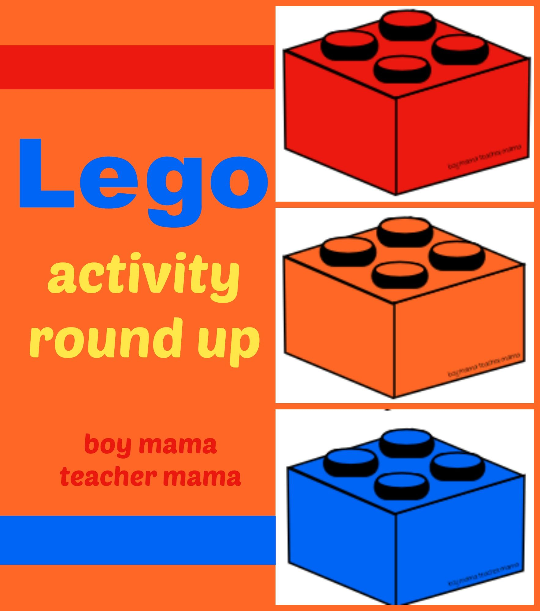 Boy Mama Lego Activities Round Up And After School Linky
