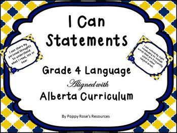 kindergarten i can statements alberta curriculum