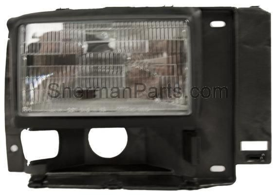 1989 1992 Ford Ranger Headlamp Rh Products Ford Explorer Replacement Headlights Ford Ranger