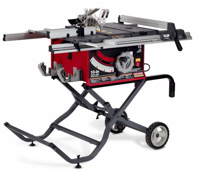 Skilsaw Spt70wt 22 Portable Table Saw Table Saws Craftsman Table Saw