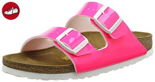 Birkenstock Classic Arizona Damen Pantoletten  37 EUPink (Camo Pink)