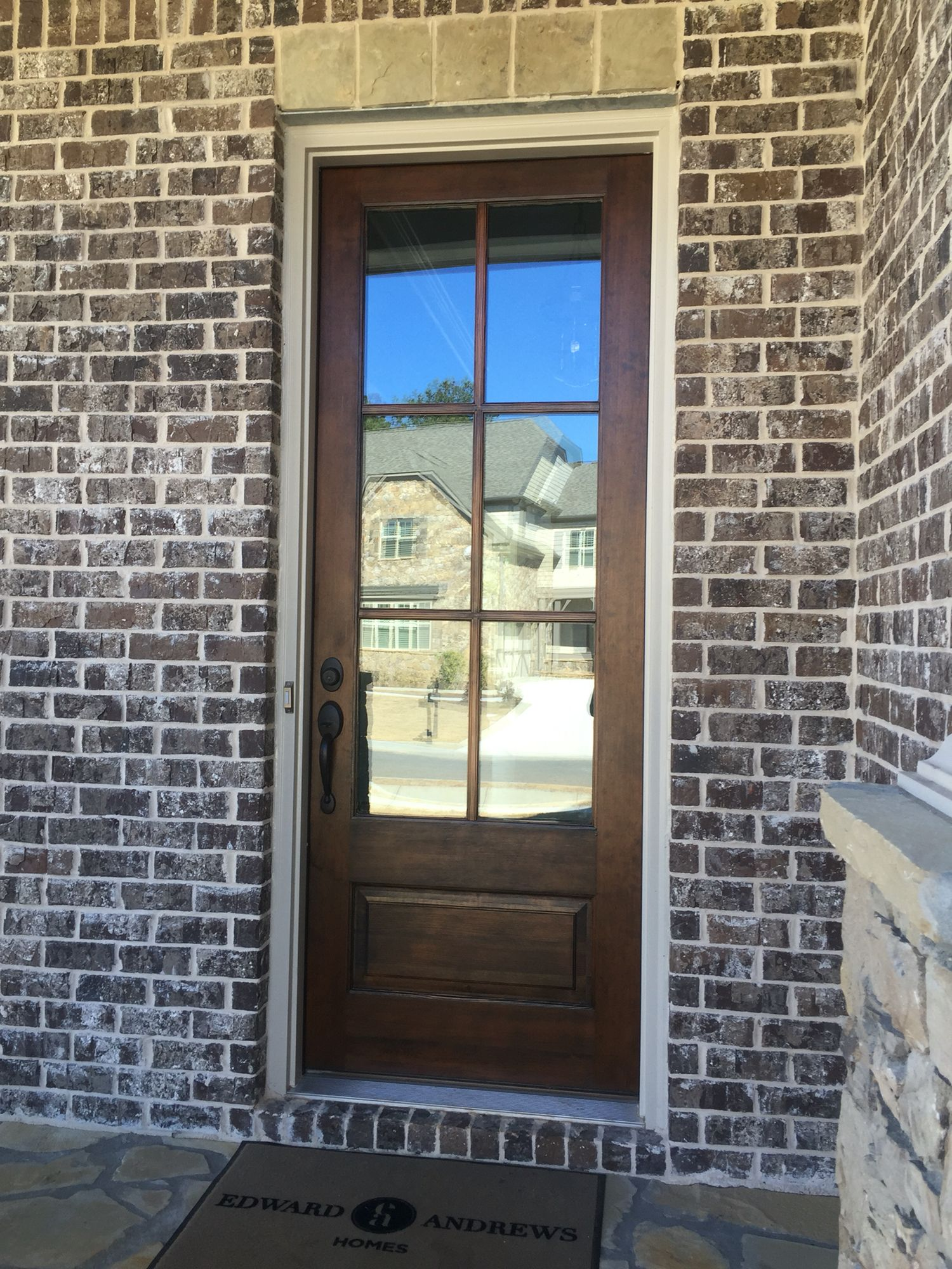 Ashton brick mortar ivory ea homes in 2019 exterior - Staining brick exterior pictures ...