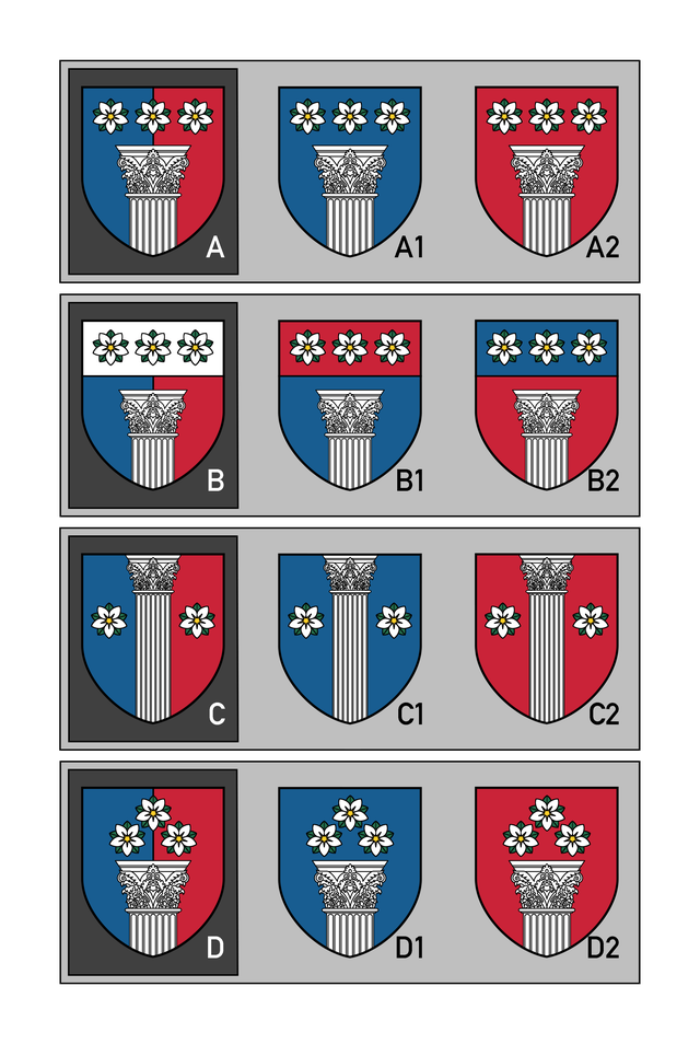 Final Poll Pick Your Favorite S I Am Making My Own Arms Heraldry Flag Design Heraldry Polls