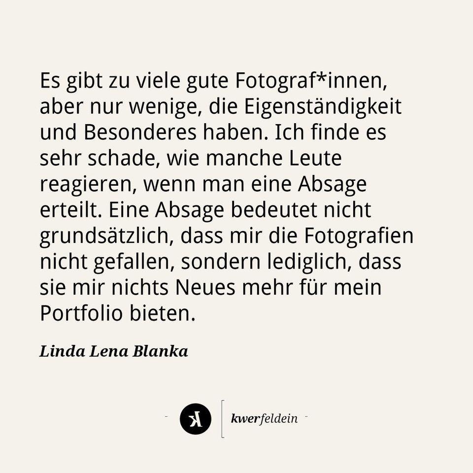 Im Fokus: Linda Lena Blanka - kwerfeldein – Magazin für Fotografie